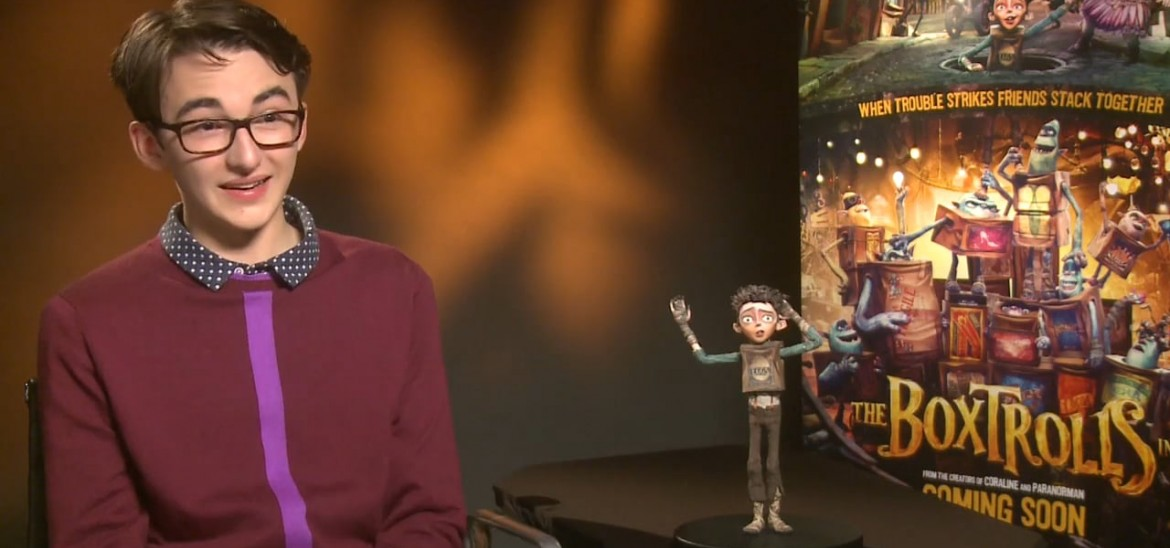 The Boxtrolls interview with actor Isaac Hempstead-Wright