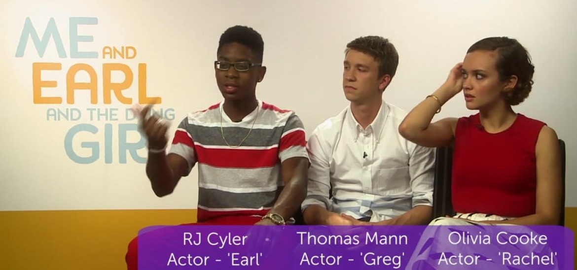 Me and Earl and the Dying Girl Interview with cast and director