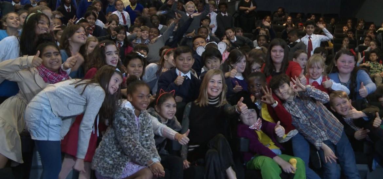 Rosamund Pike opens the 2016 Into Film Festival
