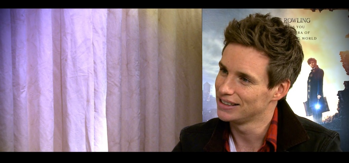Eddie Redmayne champions Into Film and talks 'Fantastic Beasts'