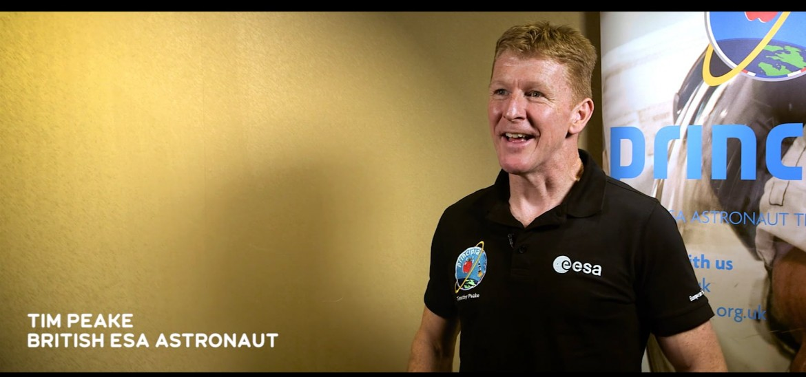 Tim Peake offers inspiration for our Into Space & Home competition