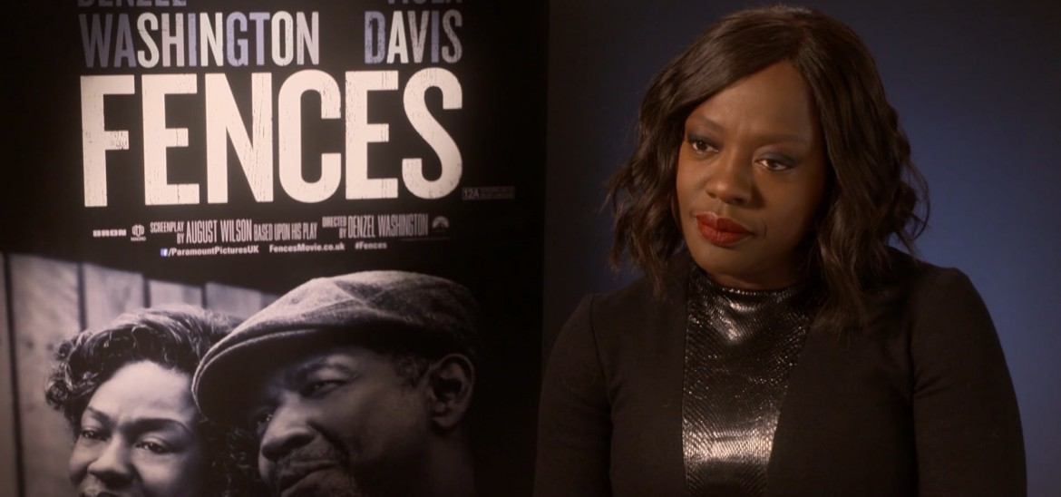 Viola Davis on her new film 'Fences'