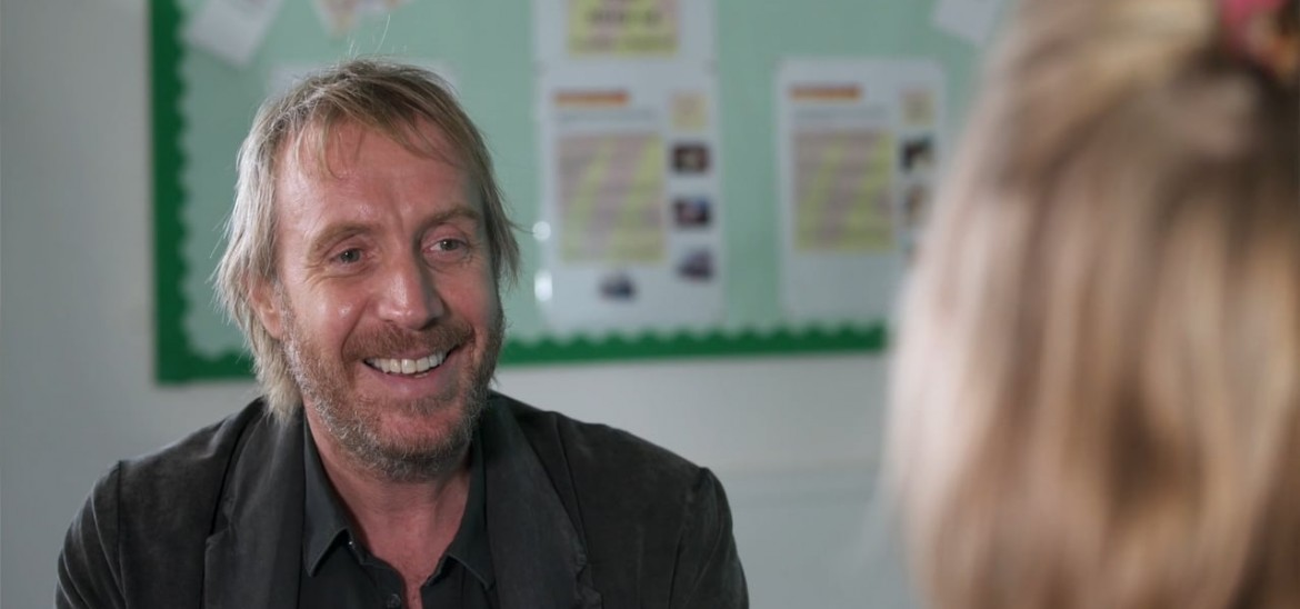 Rhys Ifans joins us at Into Film Cymru