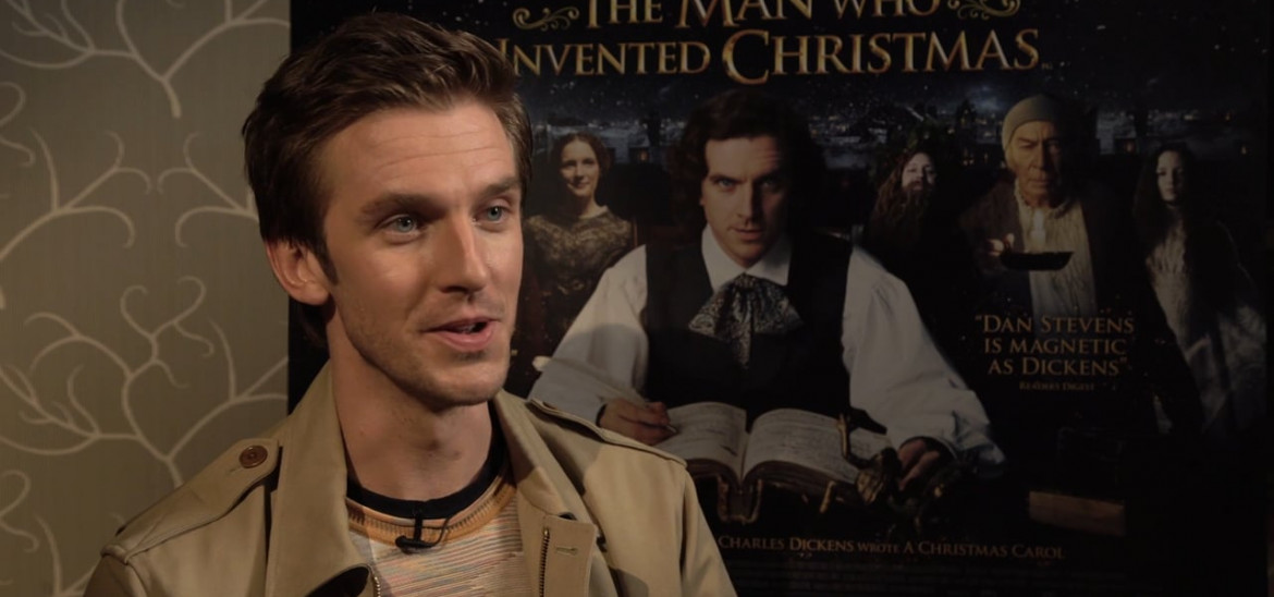Dan Stevens is Charles Dickens in 'The Man Who Invented Christmas'