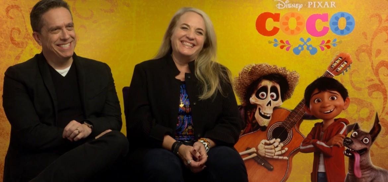Seizing the moment with Coco creators Lee Unkrich & Darla K. Anderson