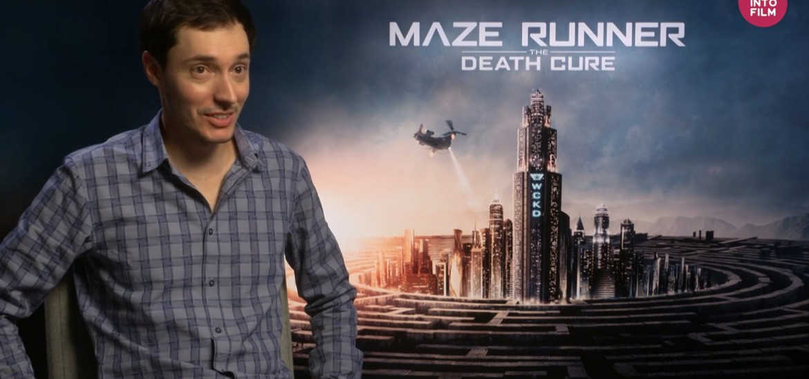 'Maze Runner' director Wes Ball takes us behind-the-scenes