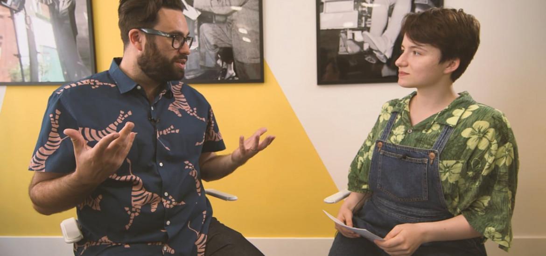 Meeting 'Hearts Beat Loud' director Brett Haley