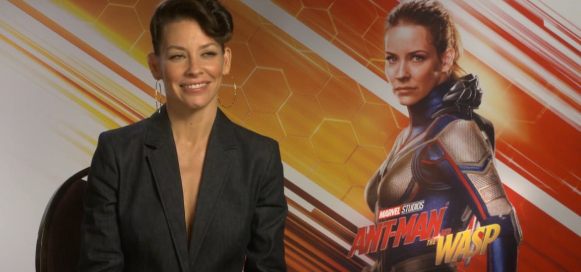 Evangeline Lily takes wing in 'Ant-Man and the Wasp'
