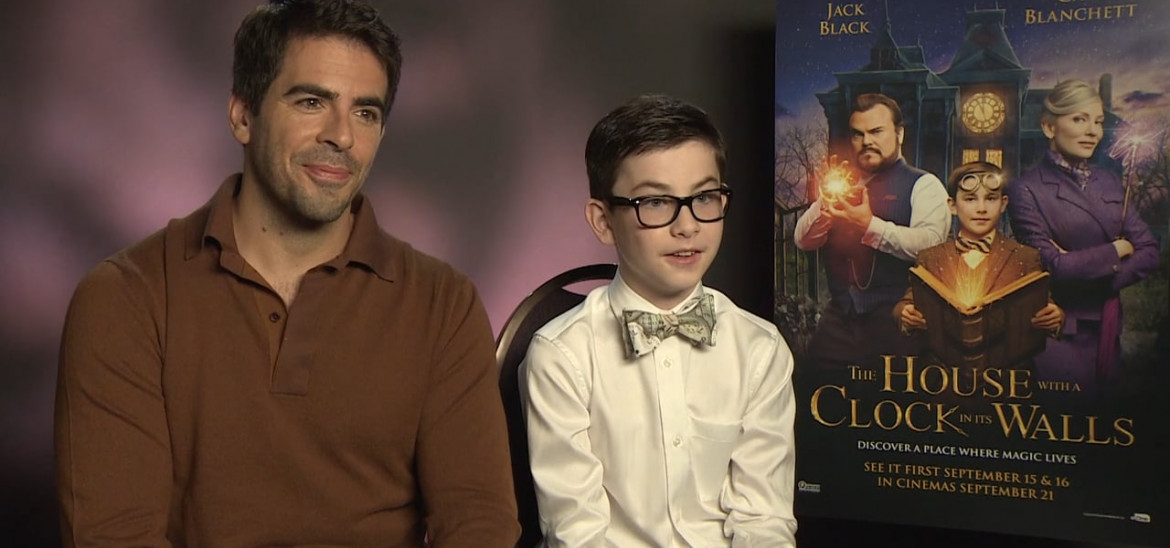 Director Eli Roth on bringing horror conventions to a family film