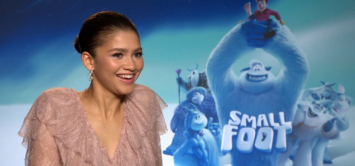Zendaya discusses 'Smallfoot', Social Media and Comfort Zones