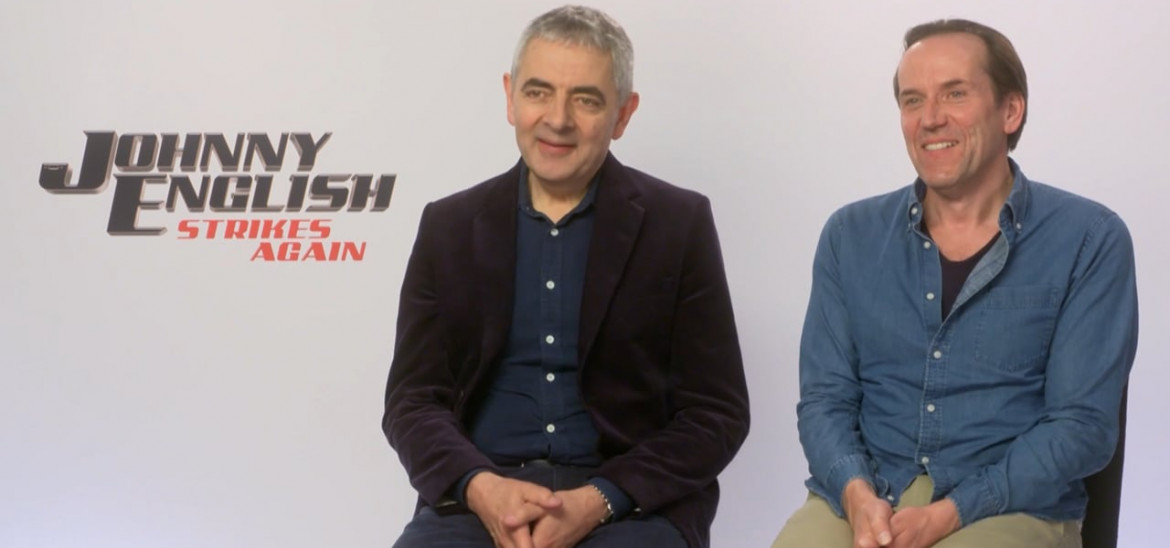 Rowan Atkinson & Ben Miller on the Mayhem of the Modern Age