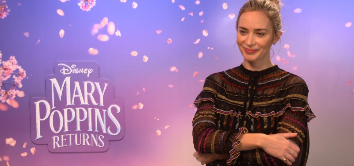 Emily Blunt on seeing through a child's eye in 'Mary Poppins Returns'