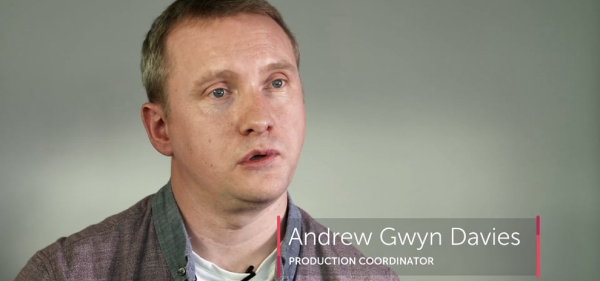 Production Coordination through PSHE with Andrew Gwyn Davies