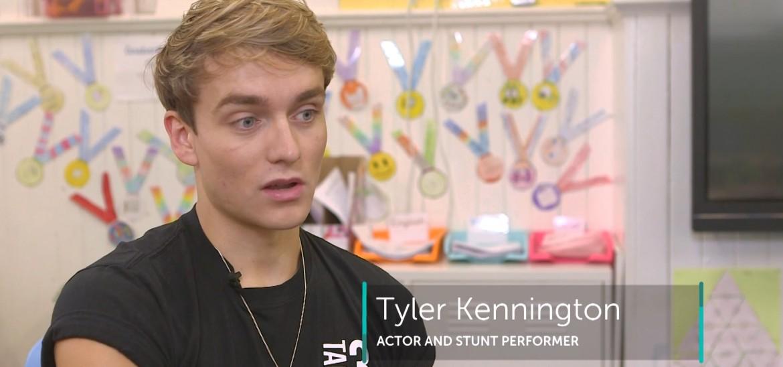 Bringing film stunt techniques to P.E.