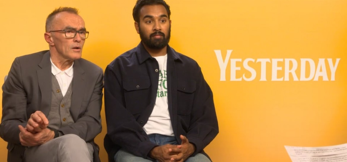 Danny Boyle and Himesh Patel talk success, The Beatles and 'Yesterday'