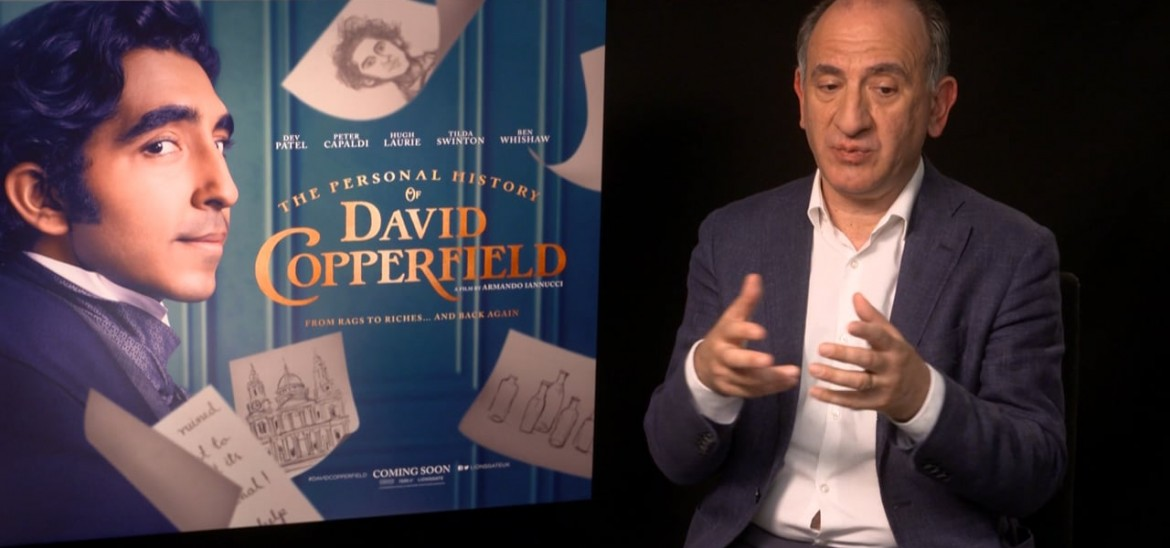 Iannucci and Dev Patel on 'The Personal History of David Copperfield'