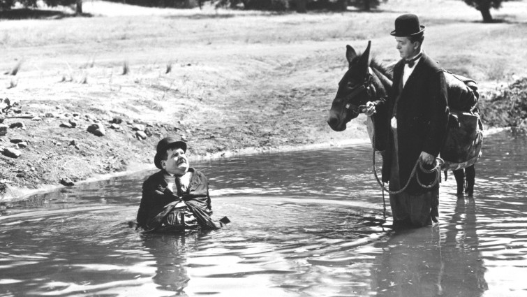 Laurel and Hardy - Way Out West