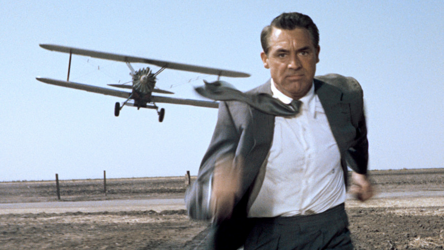 an analysis of suspense movie north by northwest From the brisk strains of bernard herrmann's opening-title fandango to its concluding gag of a honeymoon train speeding into a tunnel, north by northwest is the apotheosis of alfred hitchcock's.