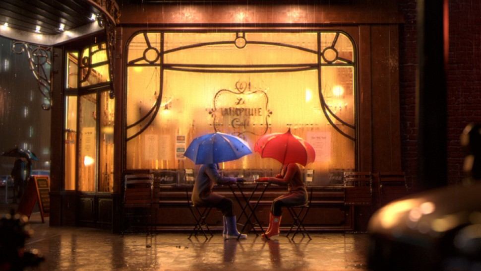 Pixar Shorts Volume 3: The Blue Umbrella